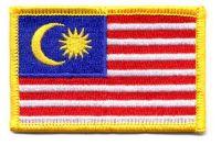Fahnen Aufnäher Malaysia