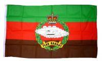 Fahne / Flagge Großbritannien Royal Tank Regiment 90 x 150 cm