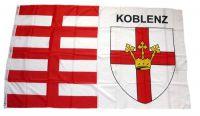 Flagge / Fahne Koblenz Schrift Hissflagge 90 x 150 cm