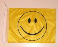 Bootsflagge Smile 30 x 45 cm