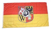 Fahne / Flagge Polen - Breslau 90 x 150 cm