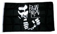 Fahne / Flagge Pow Mia schwarz 90 x 150 cm