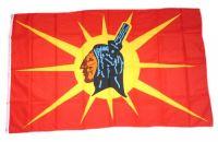 Fahne / Flagge Indianer - Oka Mohawk 90 x 150 cm