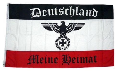 Fahne Flagge Deutschland Meine Heimat Deutsches Reich 90 X 150