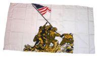 Fahne / Flagge USA - Iowa Jima 90 x 150 cm