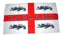Fahne / Flagge England 4 Löwen 30 x 45 cm
