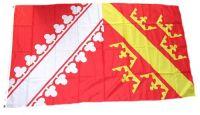 Fahne / Flagge Frankreich - Elsass 90 x 150 cm