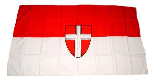 Fahne / Flagge Österreich - Wien 30 x 45 cm