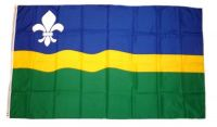 Fahne / Flagge Niederlande - Flevoland 90 x 150 cm