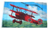 Fahne / Flagge Roter Baron 90 x 150 cm