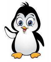 Aufkleber Sticker Pinguin Autoaufkleber