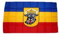 Flagge Fahne Mecklenburg Ochsenkopf 30 x 45 cm