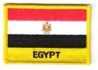 Fahnen Aufnäher Ägypten Schrift