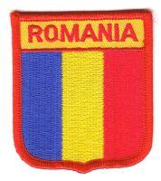 Wappen Aufnäher Fahne Rumänien