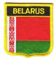 Wappen Aufnäher Fahne Weißrussland