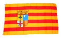 Fahne / Flagge Spanien - Aragon 90 x 150 cm