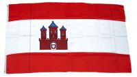 Flagge / Fahne Rendsburg Hissflagge 90 x 150 cm