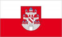 Fahne / Flagge Meerane 90 x 150 cm