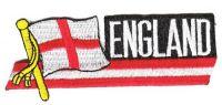 Fahnen Sidekick Aufnäher England
