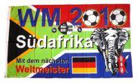 Fahne / Flagge Fußball Südafrika WM 90 x 150 cm