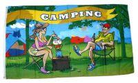 Fahne / Flagge Camper Camping 90 x 150 cm