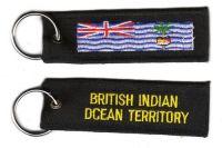 Schlüsselanhänger Britisches Territorium Indischer Ozean
