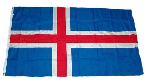 Flagge / Fahne Island Hissflagge 90 x 150 cm