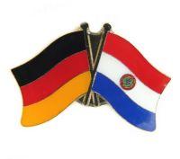 Fahnen Freundschaftspin Anstecker Paraguay