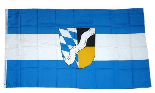 Flagge / Fahne Landkreis München Hissflagge 90 x 150 cm