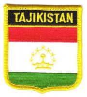Wappen Aufnäher Fahne Tadschikistan