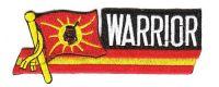 Fahnen Sidekick Aufnäher Warrior