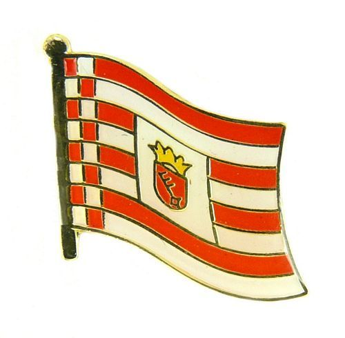Pin Flaggenpin Niedersachsen Anstecker Anstecknadel Fahne Flagge
