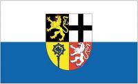 Fahne / Flagge Saarpfalz Kreis 90 x 150 cm