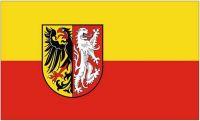 Fahne / Flagge Landkreis Goslar 90 x 150 cm