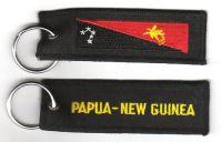 Fahnen Schlüsselanhänger Papua Neuguinea