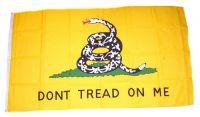 Flagge / Fahne USA - Gadsen 1775 90 x 150 cm