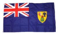 Flagge / Fahne Turks- und Caicosinseln Hissflagge 90 x 150 cm