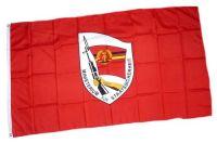 Fahne / Flagge DDR - Staatssicherheit 90 x 150 cm