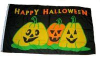 Fahne / Flagge Happy Halloween 90 x 150 cm