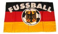 Fahne / Flagge Deutschland Fußball 30 x 45 cm